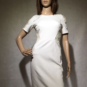Assos | White Form Fitted Dress